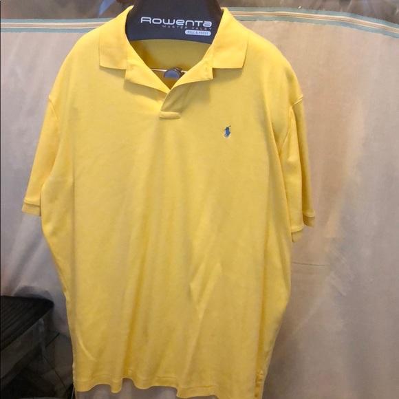 Size Xxl Polo Yellow Ralph By Lauren Shirt 4ARjL5